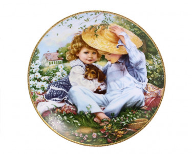 Тарелка декоративная Knowles Время любви. США