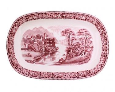 Блюдо овальное royal sphinx maastrich cambridge old england. Голландия