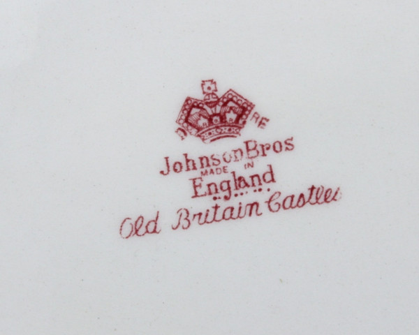 Блюдо Johnson Bros Old Britain Castles. Англия