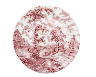 Тарелка обеденная Maddock Деревенский пейзаж. Англия
