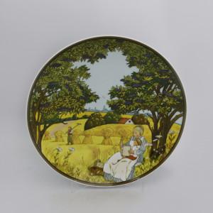 Тарелка декоративная Heinrich Villeroy&Boch Осень. Германия