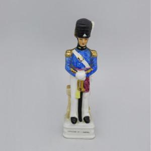 Статуэтка Офицер французской армии в синем камзоле. Германия