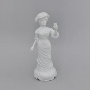Статуэтка Девушка с бокалом. Германия