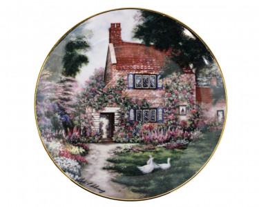 Тарелка декоративная Franklin Mint Утиный дом. США