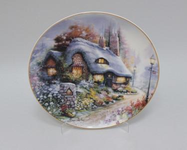 Тарелка декоративная Royal Doulton Коттедж на ромашковой аллее