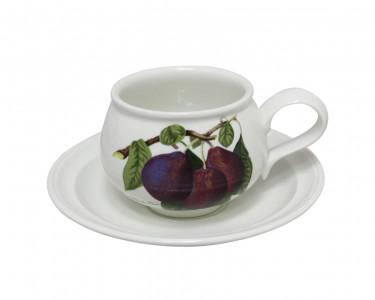 Чайная пара Portmeirion Pomona Слива. Англия