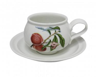Чайная пара Portmeirion Pomona Персик. Англия