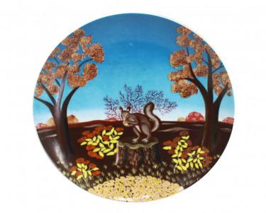 Тарелка декоративная Furstenberg Осень. Германия