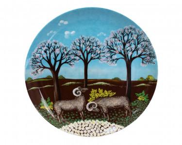 Тарелка декоративная Furstenberg Весна. Германия