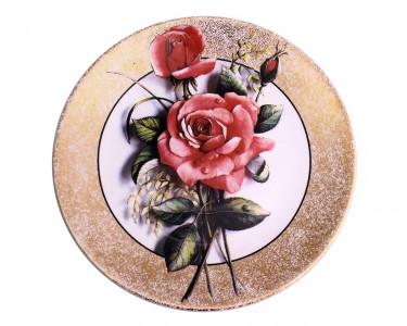 Тарелка декоративная Royal Worcester «Роза»