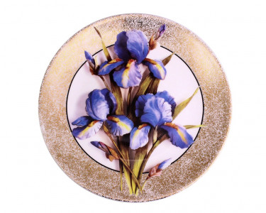 Тарелка декоративная Royal Worcester «Ирис»
