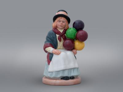 Статуэтка Девочка с шарами Royal Doulton