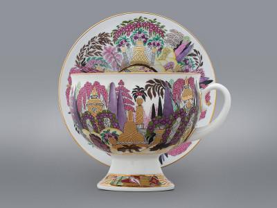 Чайная пара Шествие весны ЛФЗ