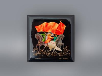 Шкатулка ГУП Башкирские художественные промыслы «Агидель»