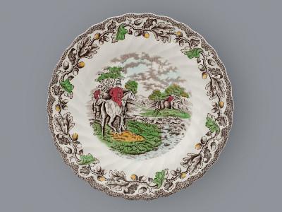Тарелка десертная Myotts Staffordshire