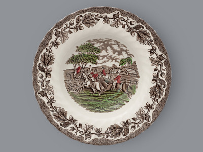 Тарелка суповая Myotts Staffordshire