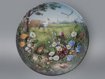 Тарелка декоративная Приземление на луг Furstenberg