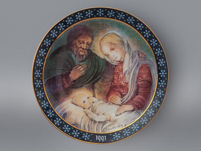 Тарелка Мария и Иосиф Konigszelt Bayern