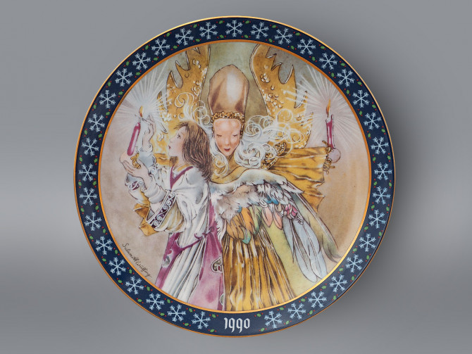 Тарелка Свет святой ночи Konigszelt Bayern