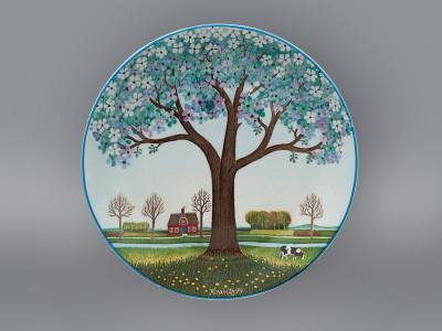 Тарелка декоративная Весна Schirnding