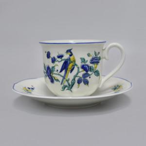 Чайная пара Villeroy&Boch Phonix Blau Malva. Германия