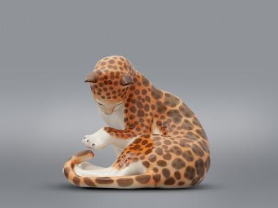 Статуэтка Леопард большой ЛФЗ