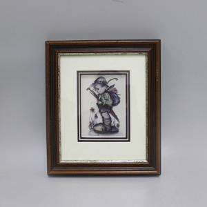 3D картина в багете M.J.Hummel Мальчик. Нидерланды