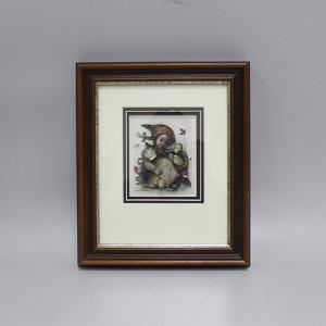 3D картина в багете M.J.Hummel Девочка. Нидерланды