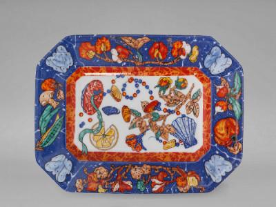 Блюдо малое Hermes Marqueterie de Pierres d'Orient et d'Occident