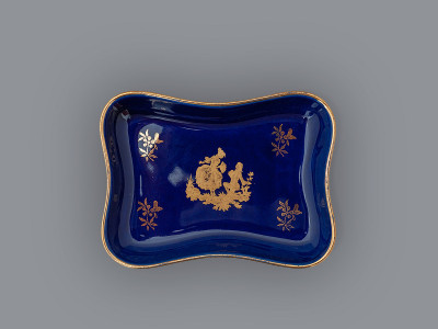 Розетка Limoges Veritable Porcelaine D'Art. Франция