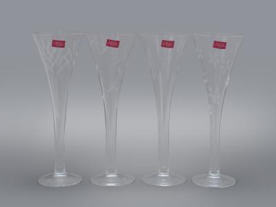Набор бокалов флейт для шампанского Cristal D'Arques