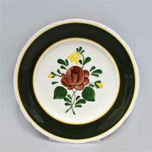 Тарелка столовая Villeroy&Boch Bauernblume зелёная. Германия