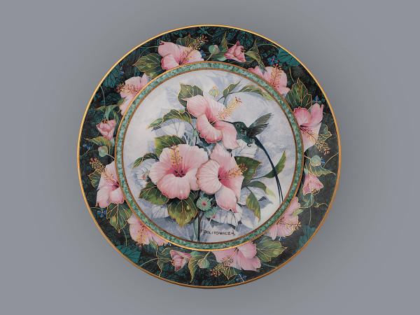 Тарелка декоративная Синегорлая сильфида колибри Royal Doulton