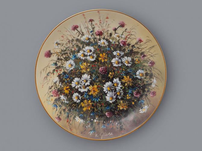 Тарелка декоративная Волшебство маргариток Johann Seltmann Vohenstrauss