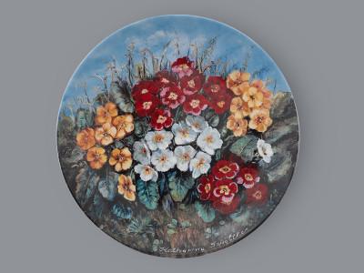 Тарелка декоративная Первоцвет весенний Schirnding