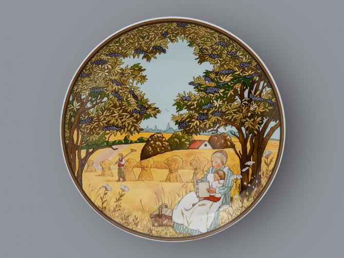 Тарелка декоративная Осень Heinrich Villeroy&Boch