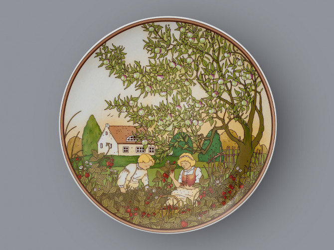 Тарелка декоративная Лето Heinrich Villeroy&Boch