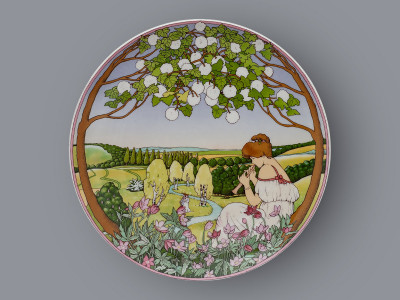 Тарелка декоративная Весна Heinrich Villeroy&Boch
