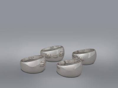 Комплект колец для салфеток 4шт Wedgwood
