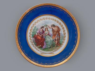 Тарелка декоративная Прекрасный венок для Пруденс Royal Copenhagen