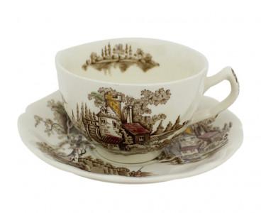 Чайная пара Jonson Bros. Англия