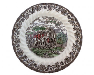 Тарелка столовая  Охота Myotts. Англия