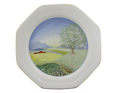 Тарелка Schirnding Цветущая яблоня. Германия