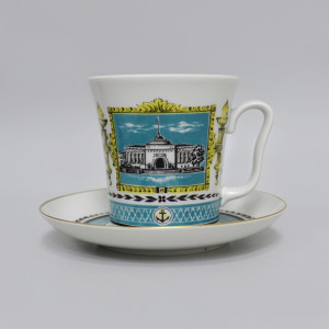 Чайная пара Адмиралтейство. ЛФЗ